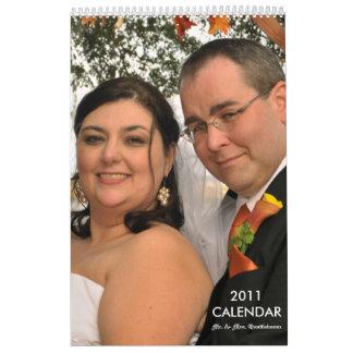 Calendario de Sr. y de señora Quattlebaum 2011