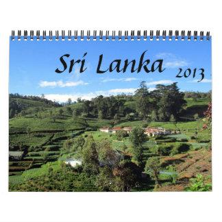 calendario de Sri Lanka 2013