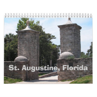 Calendario de St Augustine, la Florida 2011
