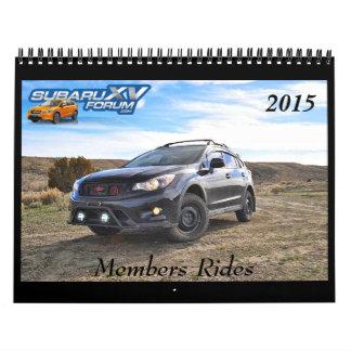 calendario de Subaruxvforum.com 2015 - ningunas
