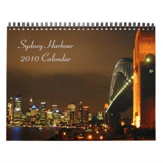 calendario de Sydney 2010