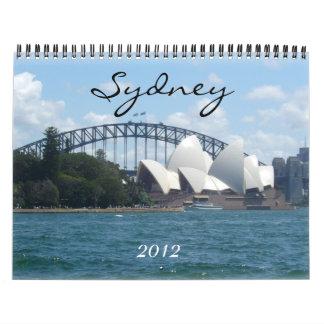 calendario de Sydney 2012