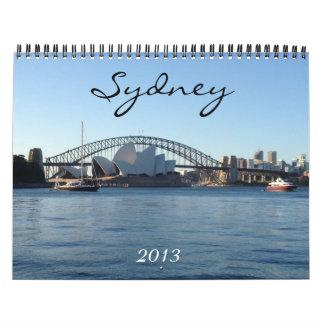 calendario de Sydney 2013