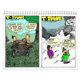 Calendario de T-TOON