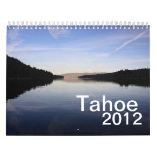 Calendario de Tahoe 2012
