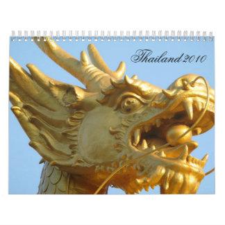 Calendario de Tailandia 2010