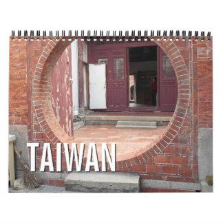 Calendario de Taiwán