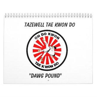 Calendario de Tazewell el Taekwondo 2009