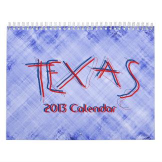Calendario de TEJAS 2013