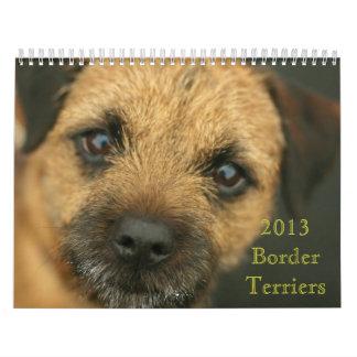 Calendario de Terrier de frontera 2013