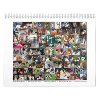 Calendario de Terrier de rata