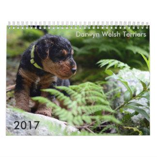 Calendario de Terrier galés 2017 por Darwyn