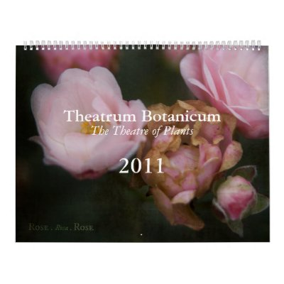 Calendario de Theatrum Botanicum 2011