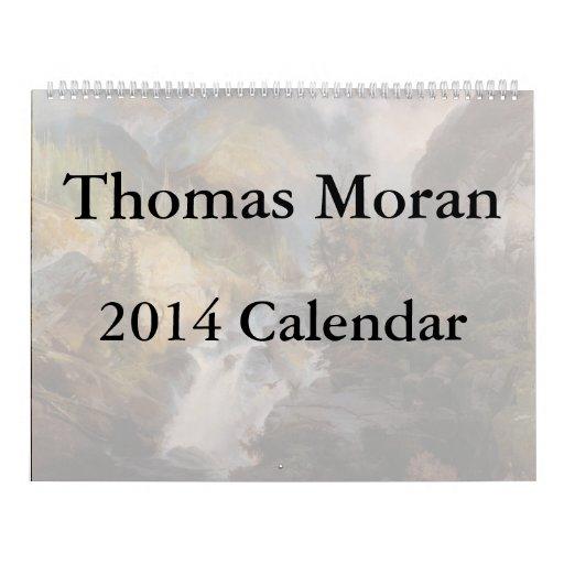 Calendario de Thomas Moran 2014