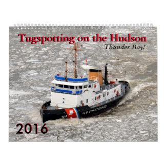 Calendario de Thunder Bay Tugspotting 2016