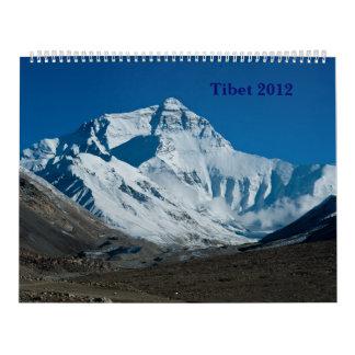Calendario de Tíbet 2012