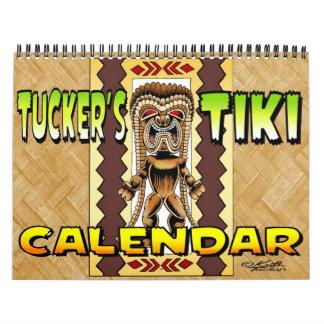 Calendario de Tiki de Tucker