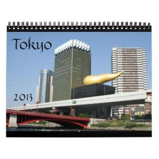 calendario de Tokio Japón 2013