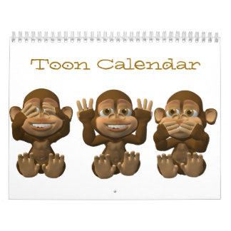 calendario de Toon