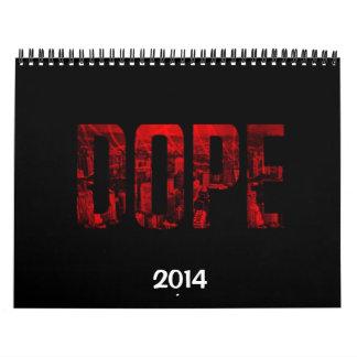 Calendario de Trillest 2014