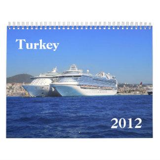 Calendario de Turquía 2012