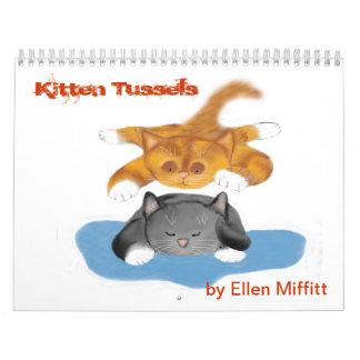 Calendario de Tussels del gatito