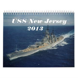 Calendario de USS New Jersey