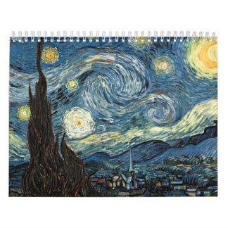 Calendario de Van Gogh