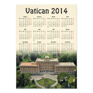 Calendario de Vatican 2014 Comunicados