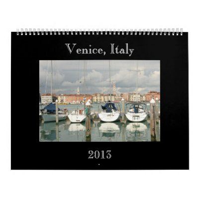 Calendario de Venecia Italia - 2013