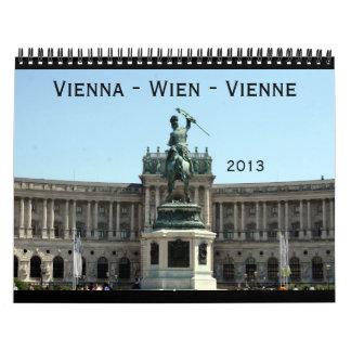 calendario de Viena 2013