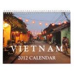 Calendario de Vietnam 2012