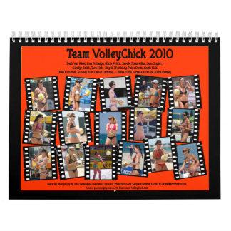 Calendario de VolleyChick de 2010 equipos