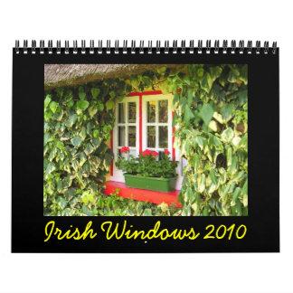 Calendario de Windows 2010 del irlandés