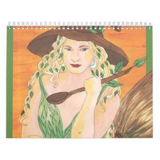 Calendario de Witchy