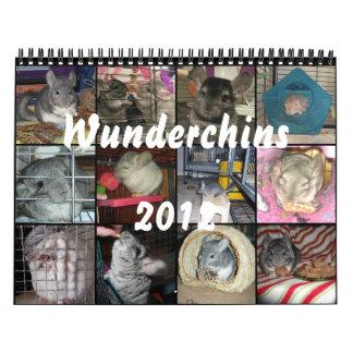 Calendario de Wunderchins 2012