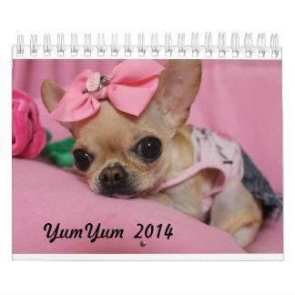 Calendario de YumYum 2014