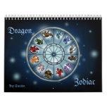 Calendario de Zodiacsigns del dragón