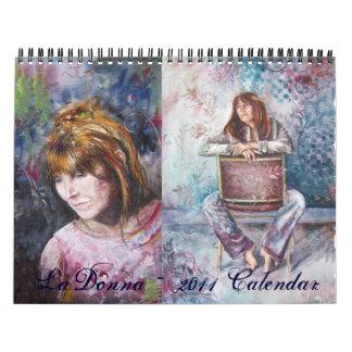 Calendario del ~ 2011 de LaDonna