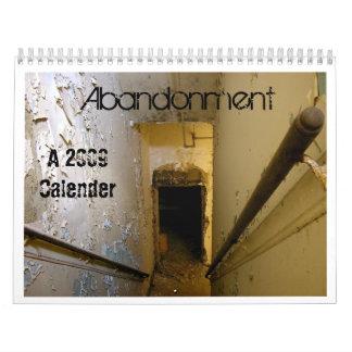 Calendario del abandono 2009