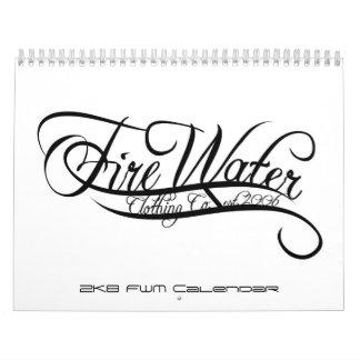 calendario del agua del fuego 2K8