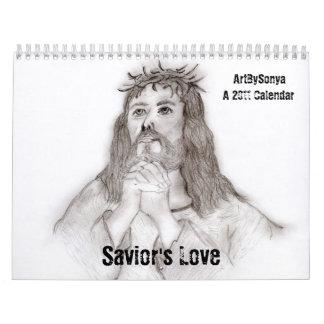Calendario del amor 2011 del salvador
