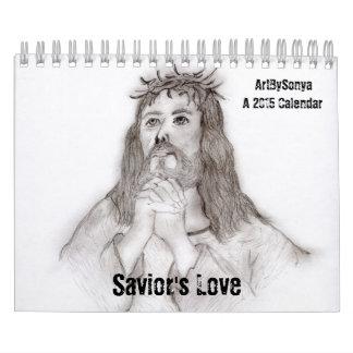 Calendario del amor 2015 del salvador
