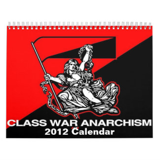 calendario del anarquismo 2012 de la guerra de