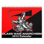 calendario del anarquismo 2012 de la guerra de cla