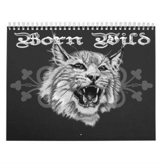 Calendario del animal salvaje