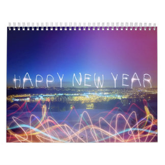calendario del Año Nuevo 2016