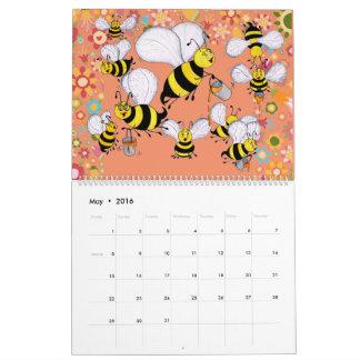 """Calendario del """"apio Charles y de los Pals"""" 2016"""