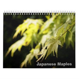 Calendario del arce japonés