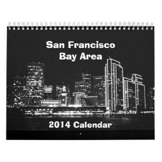 Calendario del área de San Francisco 2014/de la